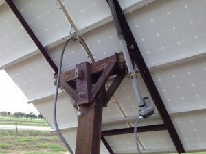 solar panel sun following using deer feeder motor and timer